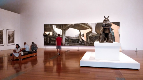 Gallery of Modern Art in Brisbane, Australia