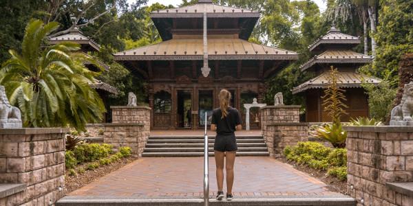 Nepalese temple in Brisbane, Australia