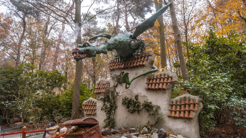 The Dragon in the Winter Efteling