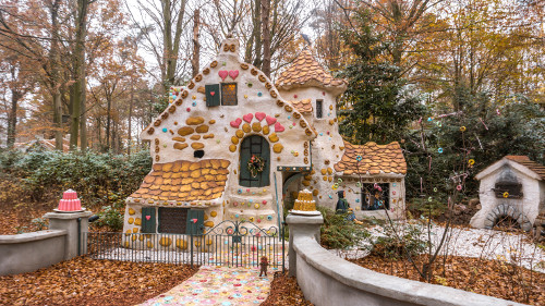 The candy house from Hansel and Gretel