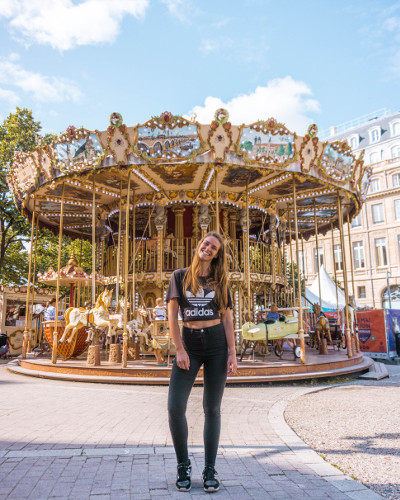 Carrousel de Bordeaux in Bordeaux, France