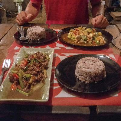 Dinner at Chill Chill in Koh Yao Yai, Thailand