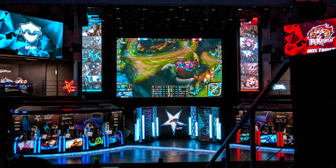 League of Legends Esports in Seoul, Korea