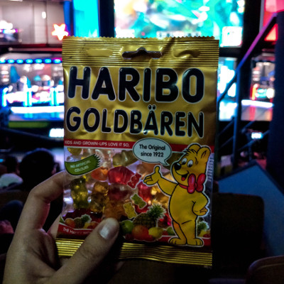 Haribo candy at the LoL esports match in Seoul, Korea
