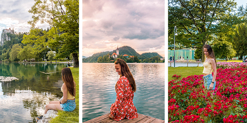 The Most Instagrammable Places at Lake Bled, Slovenia
