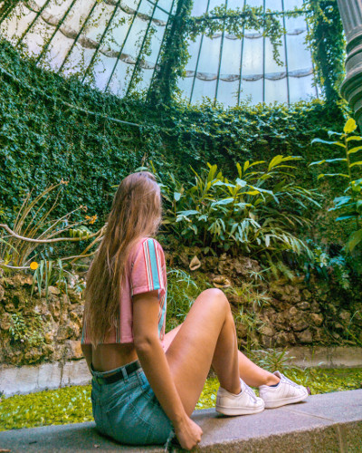 Instagrammable Place Royal Botanical Garden in Madrid, Spain