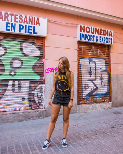 Instagrammable Place Lavapies in Madrid, Spain