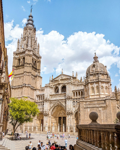 Cathedral of Saint Mary of Toledo in Toledo, Spain