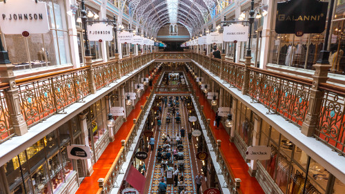 The Strand Arcade in Sydney